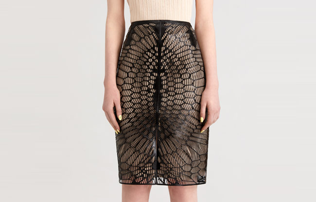 The Organic Skirt - The Word's Firs Digitally Customizable 3D Printed Skirt